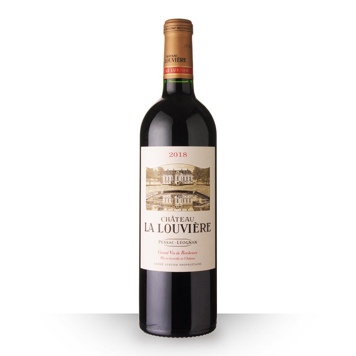 Château la Louvière Pessac-Léognan Rouge 2018 75cl www.odyssee-vins.com
