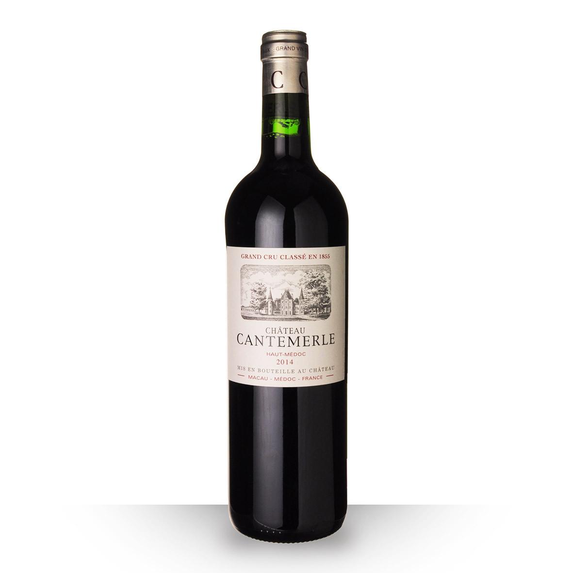 Château Cantemerle Haut-Médoc Rouge 2014 75cl www.odyssee-vins.com