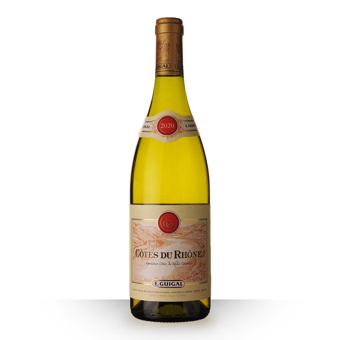 Guigal Côtes du Rhône Blanc 2020 75cl www.odyssee-vins.com
