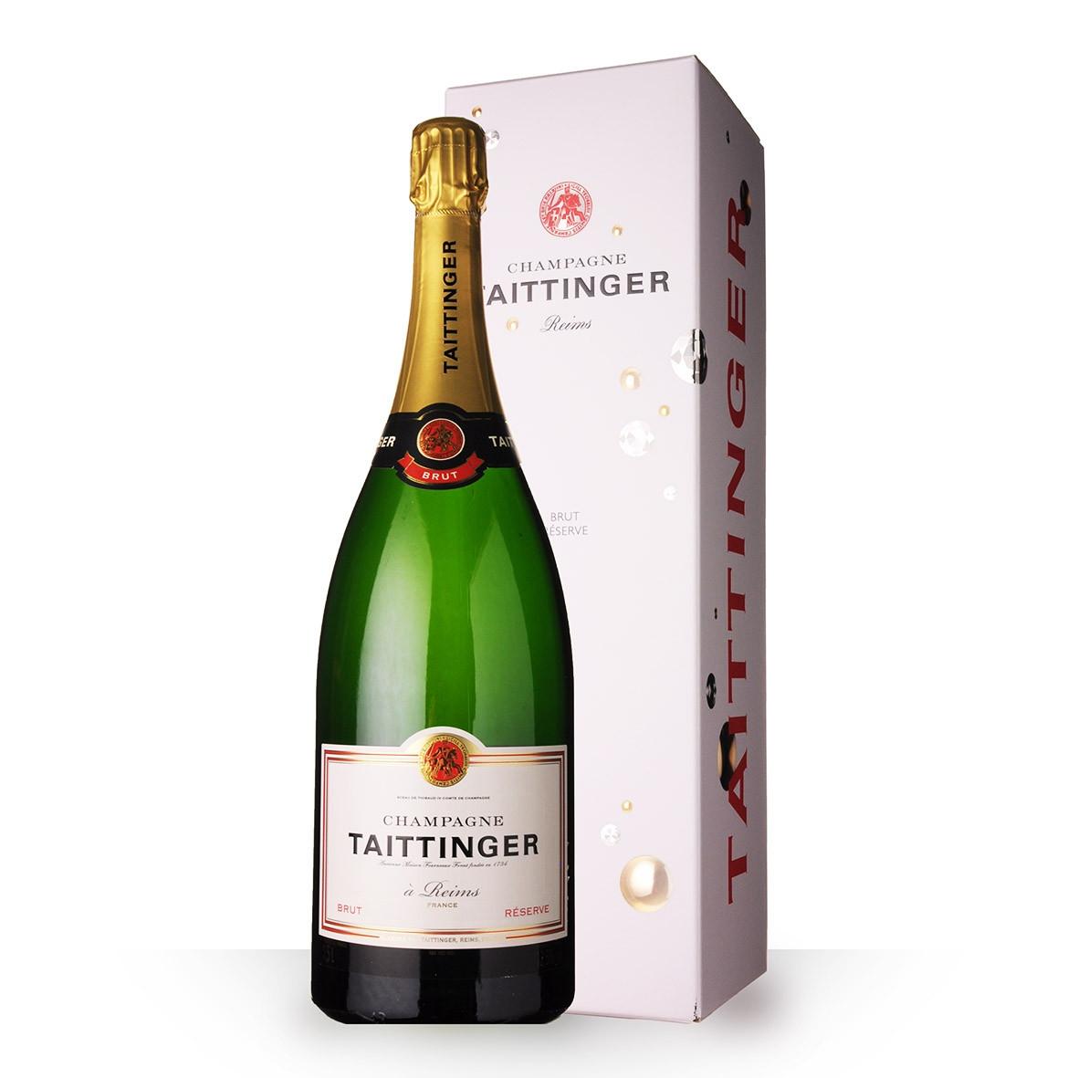 Champagne Taittinger Brut Réserve 150cl Etui www.odyssee-vins.com