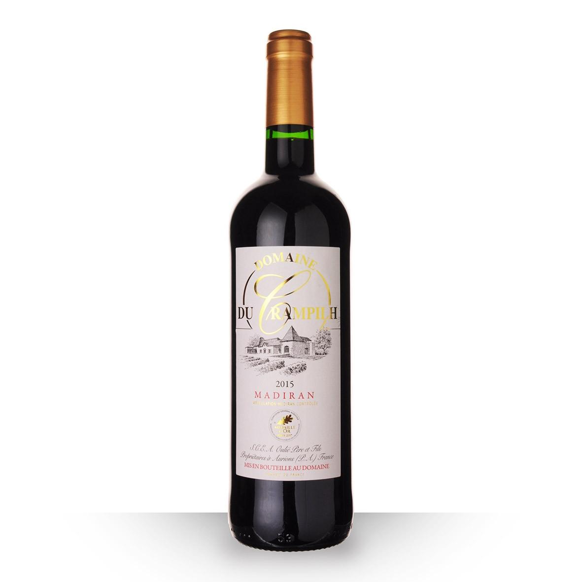 Domaine du Crampilh Madiran Rouge 2015 75cl www.odyssee-vins.com
