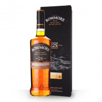 Whisky Bowmore 25 ans 70cl Etui www.odyssee-vins.com