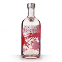 Vodka Absolut Raspberri (Framboise) 70cl www.odyssee-vins.com