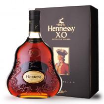 Cognac Hennessy XO 70cl Coffret www.odyssee-vins.com