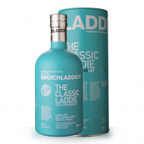 Whisky Bruichladdich The Classic Laddie Scottish Barley 70cl Coffret www.odyssee-vins.com