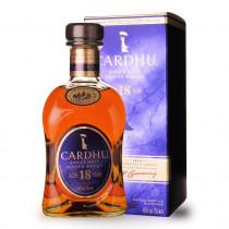 Whisky Cardhu 18 ans 70cl Etui www.odyssee-vins.com