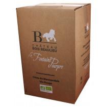 Bag-in-Box 10L Château Bois Beaulieu Côtes du Marmandais Rouge www.odyssee-vins.com