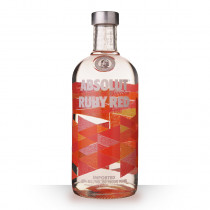 Vodka Absolut Ruby Red (Pamplemousse) 70cl www.odyssee-vins.com