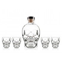 Vodka Crystal Head 70cl Coffret 4 Verres www.odyssee-vins.com