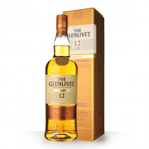 Whisky The Glenlivet 12 ans First Fill 70cl Etui www.odyssee-vins.com