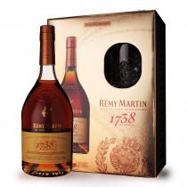 Cognac Rémy Martin 1738 Accord Royal 70cl Coffret 2 verres www.odyssee-vins.com