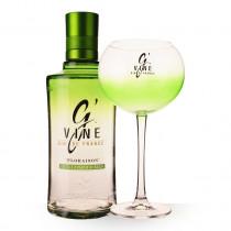 Gin Gvine Floraison 70cl Coffret 1 Verre www.odyssee-vins.com