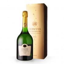 Champagne Taittinger Comtes de Champagne 2008 Blanc de Blancs 75cl Coffret www.odyssee-vins.com