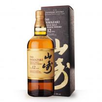 Whisky Yamazaki 12 ans 70cl Etui Noir www.odyssee-vins.com