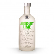 Vodka Absolut Lime (Citron Vert) 70cl www.odyssee-vins.com