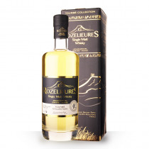 Whisky Rozelieures Tourbé Collection 70cl Etui www.odyssee-vins.com