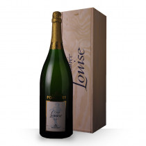 Champagne Pommery Cuvée Louise 1995 Brut 300cl Caisse Bois www.odyssee-vins.com
