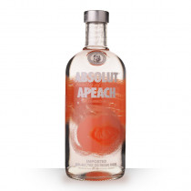 Vodka Absolut Apeach (Pêche) 70cl www.odyssee-vins.com
