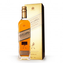 Whisky Johnnie Walker Gold Label Reserve 70cl Etui www.odyssee-vins.com