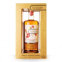 Cognac La Guilde Grande Champagne Saint Preuil Extra 70cl Etui www.odyssee-vins.com