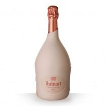 Champagne Ruinart Brut Rosé 75cl Seconde Peau www.odyssee-vins.com