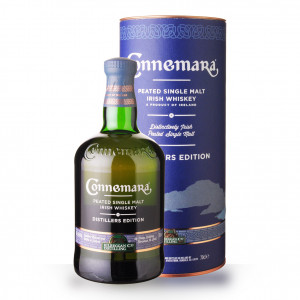 Whisky Connemara Distillers Edition 70cl Peated Coffret www.odyssee-vins.com
