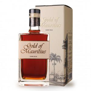 Rhum Gold of Mauritius Dark Rum 70cl Etui www.odyssee-vins.com